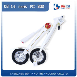 2 Wheels White Et Bike Foldable Electric Scooter