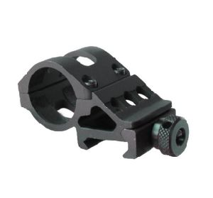 Quality Tactical Flashlight Laser Offset Picatinny Weapon Rail Gun Mount