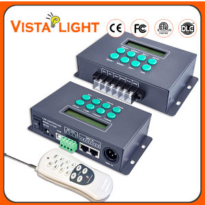 Supporting 2 0utput Ports DC12V Digital Dimmer DMX Controller pictures & photos