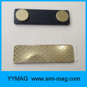 Magnetic Clips Neodymium Magnetic Badges Magnet Back for Name Badge pictures & photos
