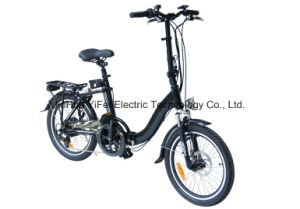 Big Power High Speed City Folding Electric Bike Ebike pictures & photos