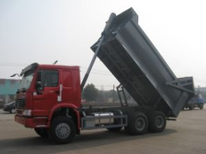 China Made 10L Engine Heavy Duty Dumper with Hyva Hydraulic pictures & photos