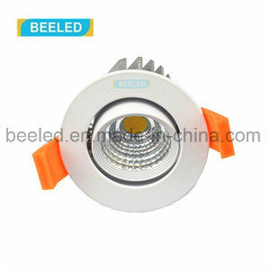 Specular 5W Dimmable Recessed Pure White Project Commercial LED Downlight
