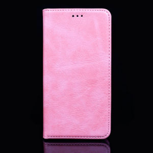 High Quality PU Leather Mobile Phone Case for iPhone/Samsung