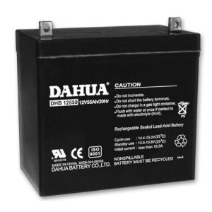12V 55ah VRLA Sealed Lead Acid Maintenance Free UPS Battery pictures & photos