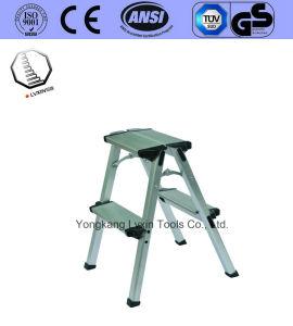 Aluminum Step Stool Folding Ladder