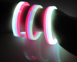 Colorful Flat Glowing Bracelets for Party in China Wholesale pictures & photos