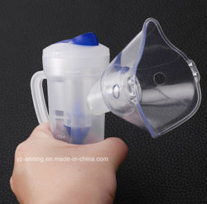 Disposable PVC Medical Nebulizer Mask with Oxygen Tubing pictures & photos