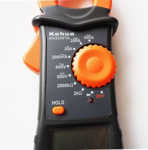 High Quality Digital Clamp Meter (KH3266TA) with ISO Certified pictures & photos
