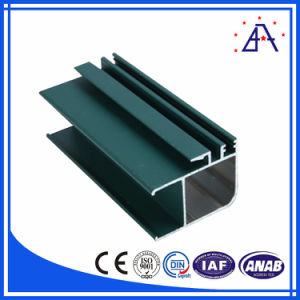 Customized Wood Grain Aluminium Extrusion Profiles for Windows and Doors pictures & photos