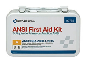First Aid Only 90755 ANSI 2015 Compliant 10 Person Bulk Class a, Metal, Weatherproof pictures & photos