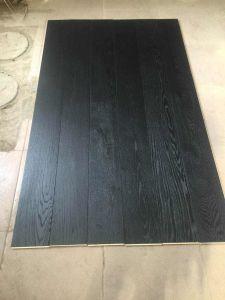 Dark Color Oak Wide Plank Wood Flooring