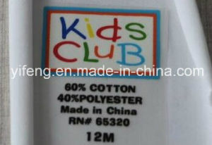 Heat Transfer Care Labels Printing Stickers Clothing Inside Neck Labels pictures & photos