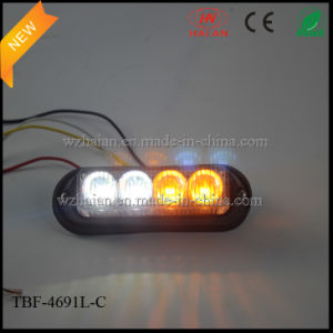 Amber White Dual-Colored Strobe Warning Lights pictures & photos