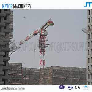 China Type 6t Rated Load 1t Tip Load Working Crane PT5610 Topless Tower Crane pictures & photos