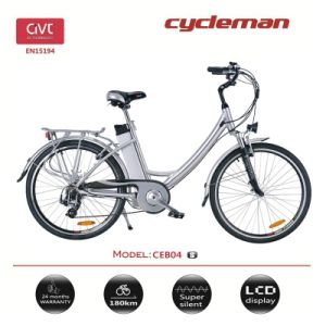 "Lithium Battery City Electric Bicycle 26"" & 28"""