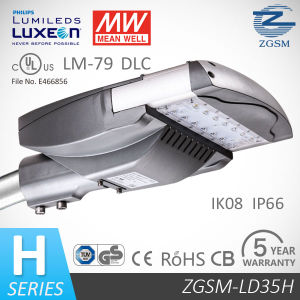 35W UL/Dlc/Lm80/Lm79 Listed LED Street Light with Surge Protective Device pictures & photos
