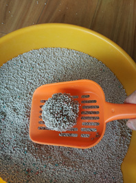 Dust -Free Clumping Bentonite Cat Litter