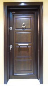 Simple Dseign Steel Security Armored Door pictures & photos