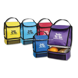 Insulated Lunch Bag (KM2354) pictures & photos