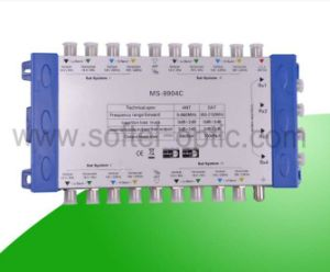 Zinc 9 in 16 Output Diseqc 2.0 Satellite Signal Multiswitch pictures & photos