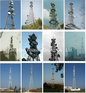Telecom Broadcasting Mobile Microwave Signal Steel Tower pictures & photos