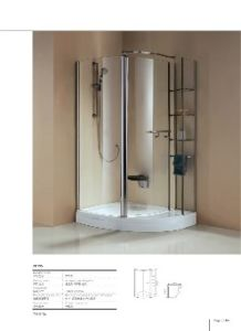 Tempered Glass Shower Enclosure (BA-L735) pictures & photos