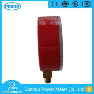 60mm Factory Price Red Steel Case Refrigerant Manometer pictures & photos