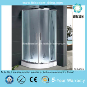 Cheap Acid Glass Simple Enclosure Shower Room Shower Cabin (BLS-9509) pictures & photos