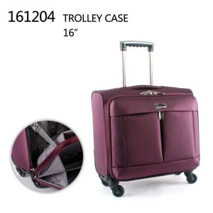 "Laptop Trolley Case with Alumium Trolley 16"" 18"""