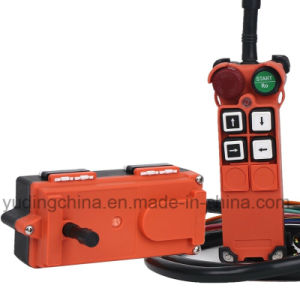1 Ton Woodward Speed Control Buttom Lever Lifting Hoist F21-4s Wireless Remote Control pictures & photos