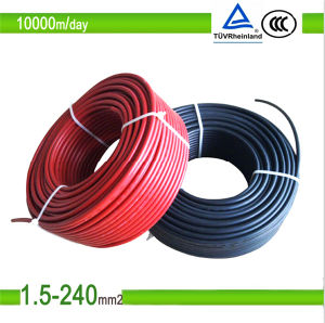 TUV Certificated Solar Cable Mc4 Solar PV Connector Cable pictures & photos