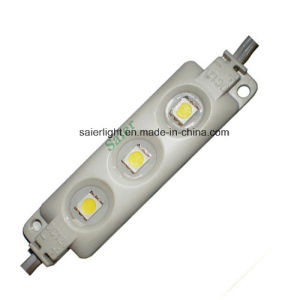 Injection Waterproof 5050 LED Light Module with 3 Chip