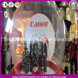 Hot Simple Paly Inflatable Snow Globe for Sale