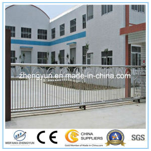 Houses Steel Security Sliding Main Gates