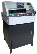 E460r Paper Guillotine, Guillotine Cutting, 460mm Paper Guillotine pictures & photos
