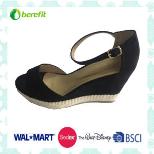 PU Upper with Straps, Wedge Sole, Sandals pictures & photos