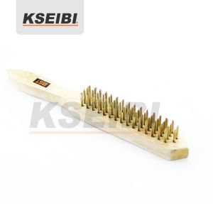 Kseibi European Type Hand Brush with Wooden Handle pictures & photos