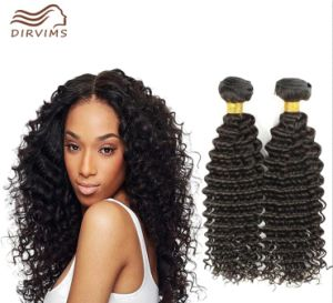2016 Hot Selling Brazilian Virgin Human Hair Natural Hair No Chemical Process Hair Weft Deep Wave