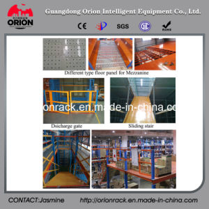 Multi-Layer Storage Rack with Steel Structure Mezzanine Floor