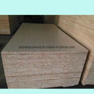 Poplar Core Wood Veneer Blockboard for Sale pictures & photos