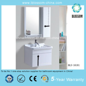 Wall-Mounted PVC Bathroom Cabinet, Vanity with CE (BLS-16181) pictures & photos