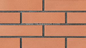 China Plane Surface Red Clay Bricks For Wall Decoration Wf238