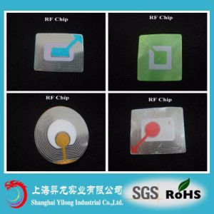 EAS RF Labels 3*3 and 4*4 RF Chip T35 pictures & photos