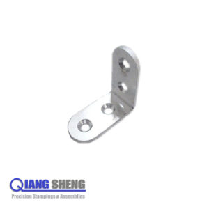 Stamping Bending Metal Chrome Angle Brackets