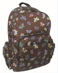 Classic Backpack Friends Kaleidoscope School Student Bag