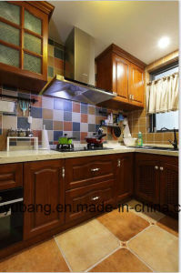 2017 New American Kitchen Furniture Solid Wood Kitchen Cabinet Yb-1706010 pictures & photos
