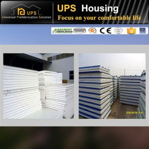 Fast Assembling Prefabricated House Cost Permanent Residential and Wind Resistance pictures & photos