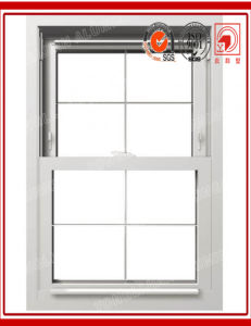 Aluminum Double Hung Window with Double Glazing pictures & photos