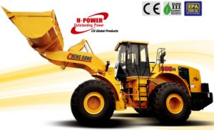 Chenggong Wheel Loader (CG990H) , 10% Energy Saving, 12% Speed up